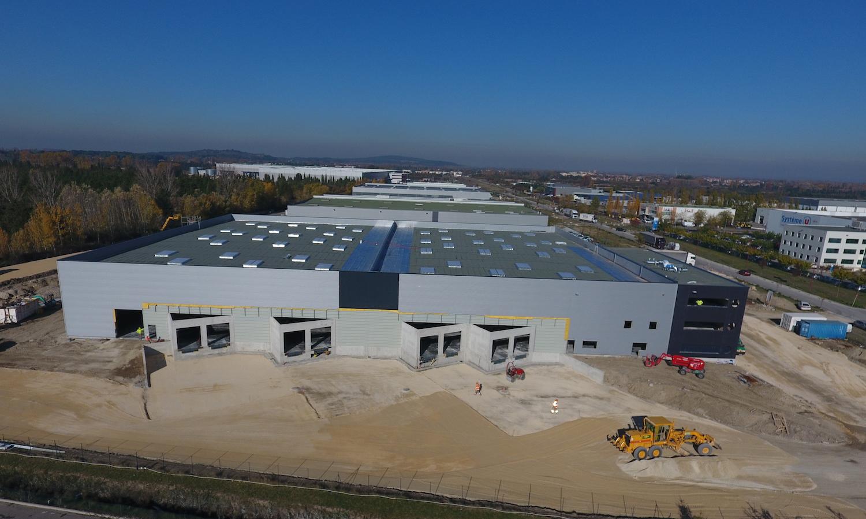 6000 m2 de plateforme logistique, MOE par AMOCER